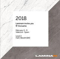 LAMINAM на выставке CEVISAMA 2018 в Испании